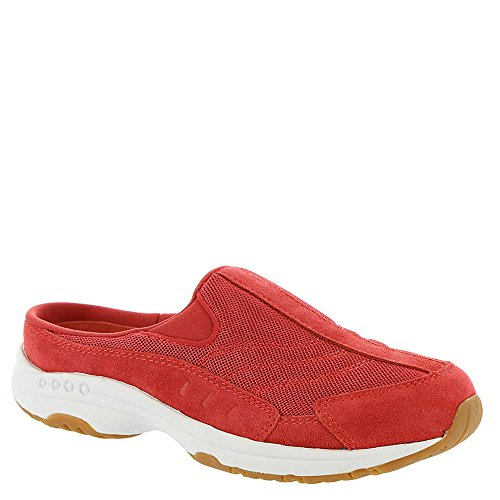 Easy Spirit Travel Time Womens Slip On 7 B (m) Us Red