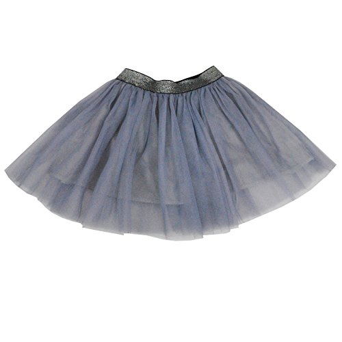 (HCABL Girls Tutu Skirt, Summer Tulle Skirt Pure Color Layered Dress up Soft Lining 100% Cotton 2-12T)