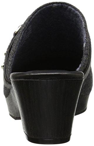 Dr. Scholls Womens Jessa Mule Dark Charcoal/Black q3LmA