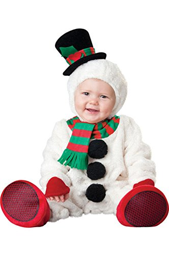 Mememall Fashion Silly Snowman Infant/Toddler Halloween Costume