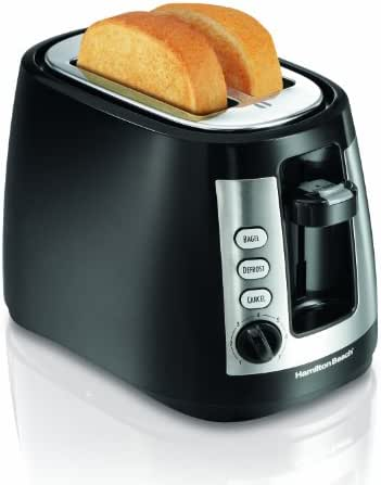 Hamilton Beach 2-Slice Extra-Wide Slot Toaster with Keep Warm & Bagel Settings, Shade Selector, Toast Boost, Auto-Shutoff and Cancel Button, Black (22810)