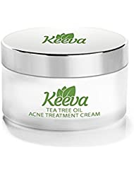 7X FASTER Acne Treatment for Scars, Cystic Spots & Blackheads Secret TEA TREE OIL + Salicylic Acid Dermatologist Recommended for Fast Scar Removal - Get Rid of Acne in Days (0.5)