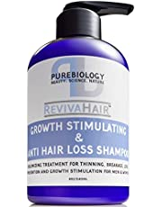 Hair Growth Stimulating Shampoo (Unisex) with Biotin, Keratin & Breakthrough Anti Hair Loss Complex - For men & women, 8 Oz