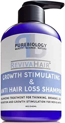 Hair Growth Stimulating Shampoo (Unisex) with Biotin, Keratin & Breakthrough Anti Hair Loss Complex - For men & women