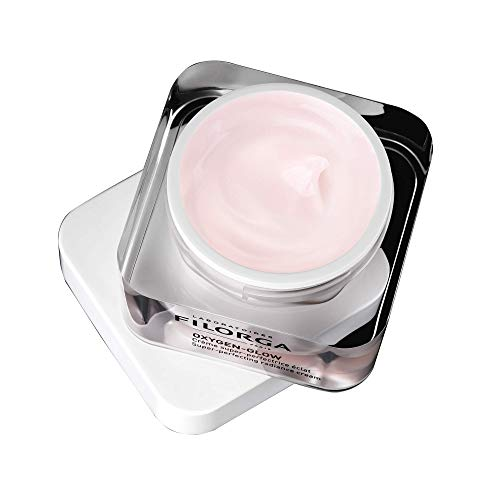 FILORGA OXYGEN-GLOW Cream Super-Perfecting Radiance Cream for Uneven Skin Texture Fine Lines Uneven Skin Tone Non-comedogenic, 1.69 fl oz