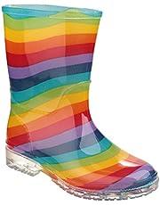 Cotswold Meisjes PVC Kids Multi Regenboog Kleur Wellington Boot