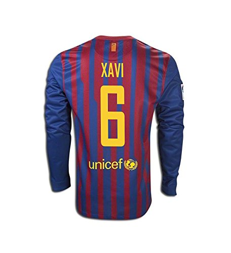a3388114c55 barcelona 6 xavi away short sleeves mens adults 2016 2017 club ...