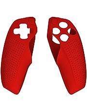 IRYNA Mjukt gummiskydd fodral handtag ärmskydd kompatibel med PS5 Dualsense Controller silikonfodral för PS5