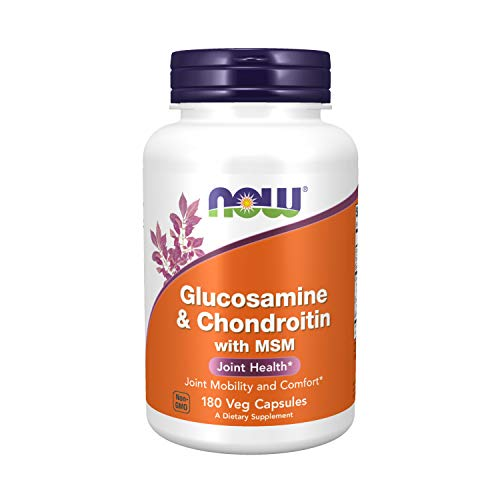 NOW Supplements Glucosamine Chondroitin