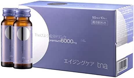 TNA WHITENING Drink with 6000MG Collagen (One case, Including 80 Bottles)