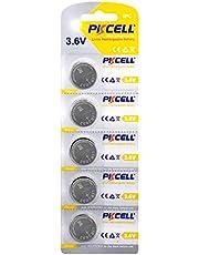 5PCS 3.6V LIR2032 LI-ion Rechargeable Batteries Button for Computer motherboards 40mAh
