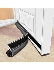 MAXTID Door Draft Stopper 36 inches Grey Under Noise Blocker Door Silencer Sound Proof Door Gap Guard