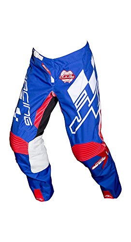 JT Racing 2018 Hyperlite Pants - Checker (36) (RED/WHITE/BLUE) from JT Racing USA