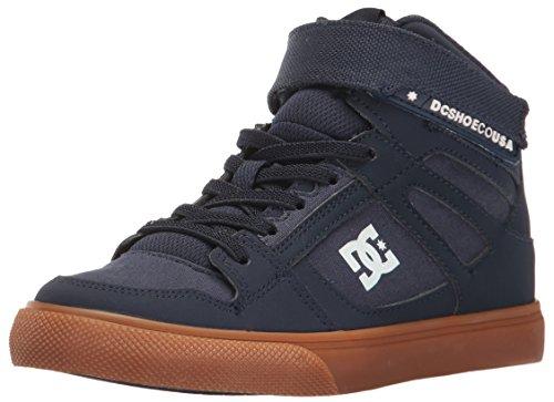 DC , Jungen Sneaker, mehrfarbig - Marineblau / Gum - Größe: 31 EU Kinder