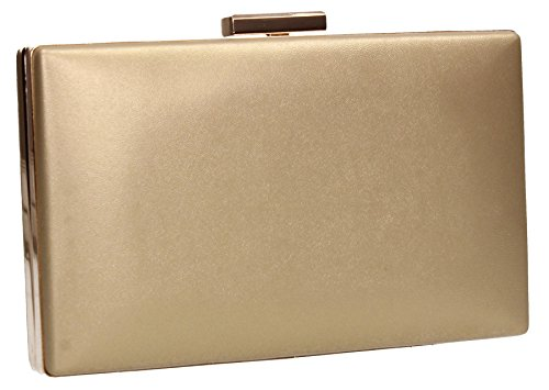 Clutch Floral Gold Faux 3d Leather Bag Prom SWANKYSWANS Womens Box Valery Ladies Wedding Party v5FqWqO