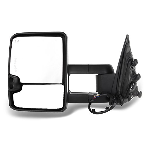 Partslink Number GM1320241 OE Replacement Chevrolet Camaro Driver Side Mirror Outside Rear View