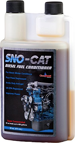 CleanBoost® Sno-Cat™ 32oz Anti Gel Fuel Treatment – Treats 480 Gallons of Diesel