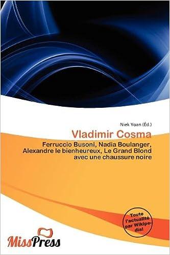 Télécharger en ligne Vladimir Cosma pdf epub