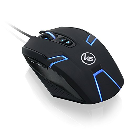 (IOGEAR Kaliber Gaming SYMMETRE Ambidextrous Gaming Mouse, GME630)