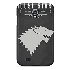 Rewens CSJ2572LDyQ Case Cover Skin For Galaxy S4 (game Of Thrones House Stark)