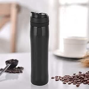 Cafetera Botella de acero inoxidable con filtro de presión ...