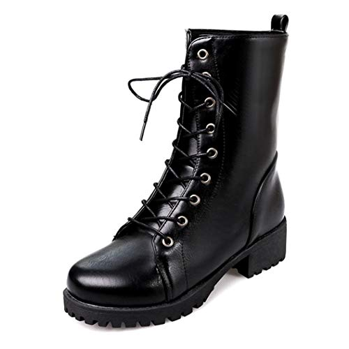 Kyle Walsh Pa Women Ankle Boots Soft Leather lace up Ladies Female Short Fur Winter Snow Boots Black Brown