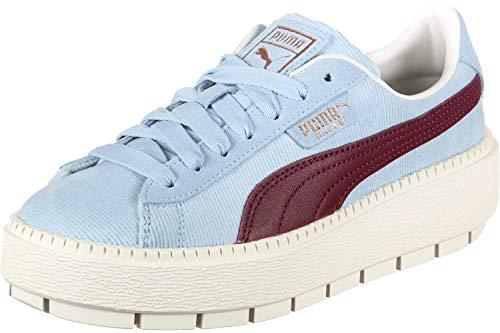 Puma Sneaker Platform Cerulean Blu Donna Corduroy Trace pwgrXpY