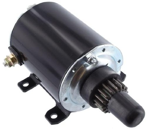 Lawn Mower Starter (New Starter John Deere, Outdoor Power Equipment, Riding Mower, Lawn Tractor, 12 Volts, 16 Teeth/Splines)