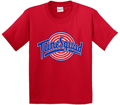 New Way 487 - Youth T-Shirt Tune Squad Space Jam Basketball Team Medium Red