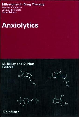 Anxiolytics (Milestones in Drug Therapy)