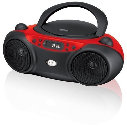 cd boombox top loading portable radio outdoor stereo. Black Bedroom Furniture Sets. Home Design Ideas