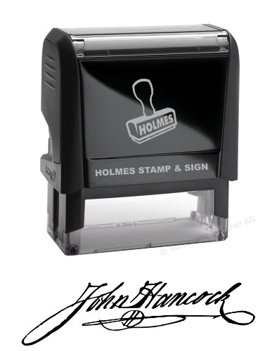 Custom Signature Stamp - Self Inking
