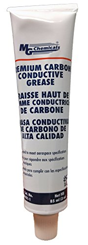 Chemical Enhancer - MG Chemicals Premium Carbon Conductive Grease, 3 fl. oz, Black