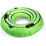 "Tube Pro Green 44"" Premium River Tube With Cupholder"