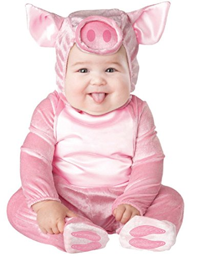 InCharacter Costumes Baby's This Lil' Piggy Costume, Pink, Small for $<!--$20.78-->