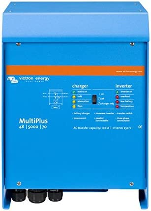 Victron Energy - Inversores/cargadores 4500W 48V 5000VA Victron Energy Multiplus 48/5000/70-100 - PMP485021010