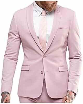 b3de4664c82af9 Botong Men's 2 Pieces Black Shawl Navy Men Suits Wedding Suits for Men  Groom Tuxedos
