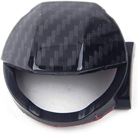 Citall Auto Kohlefaser Stil Zündung Motor Start Stopp Taste Schalter Abdeckung Kappe Abdeckung Trimmung Auto