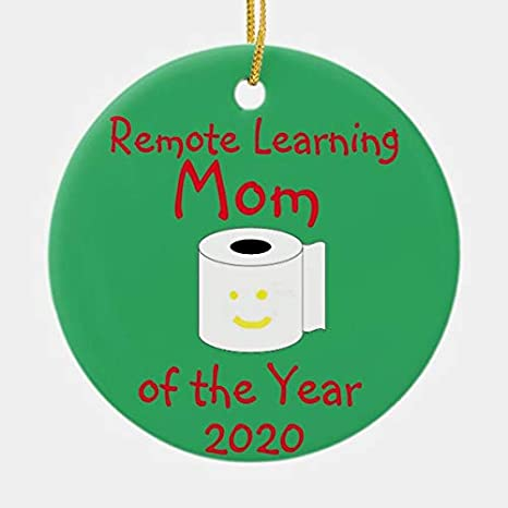 Remote Learner Christmas ornament