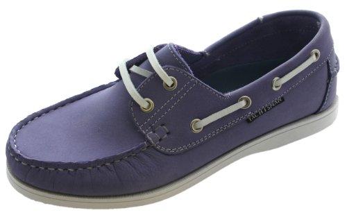 Chaussures bateau en nubuck pour femme Taille 37–41 - Violet - Lilas, 39.5