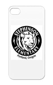 Icons PTA Lion Stephenson Symbols Shapes TPU Black For Iphone 5/5s Lion LOGO JPG Protective Case