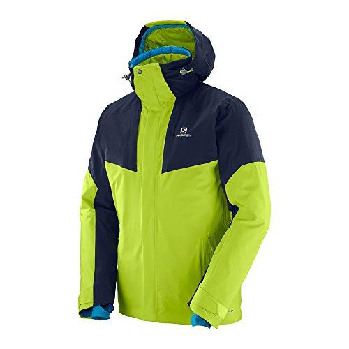 Salomon Men's Icerocket Jacket, Acid Lime, Medium -