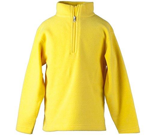 - Obermeyer Kid`s UG 100 Micro Zip-T Pullover, Yellow, Small