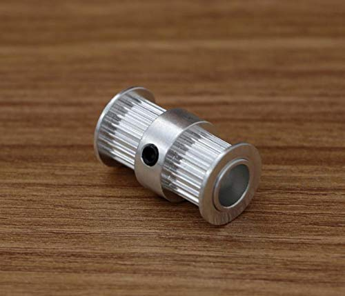 ARCELI 4pcs 3D Printer 2GT-20 Teeth Double Headed synchronous Wheel,Inner Bore 8mm