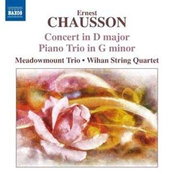 Chausson: Concerto For Piano, Vln, String Quartet Op.21/ Piano Trio Op. 3 by Meadowmount Trio (2011-09-27)