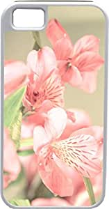 Blueberry Design iPhone 4 iPhone 4S Case pink Leaves pink Flowers - Ideal Gift
