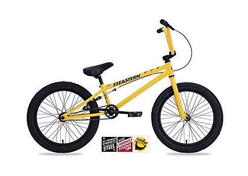 EASTERN LOWDOWN BMX BIKE 2017 BICYCLE YELLOW