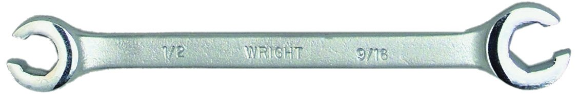 3//8 x 7//16 Wright Tool 11614 6-Point Flare Nut Wrench