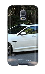 Galaxy S5 Hard Back With Bumper Silicone Gel Tpu Case Cover Jaguar Xf 18