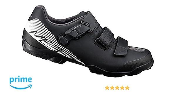 Shimano SH M MTB Me300, Zapatillas de Ciclismo de Carretera para Hombre, Negro (White/Black), 46 EU: Amazon.es: Zapatos y complementos